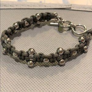Grey bracelet by Cookie Lee